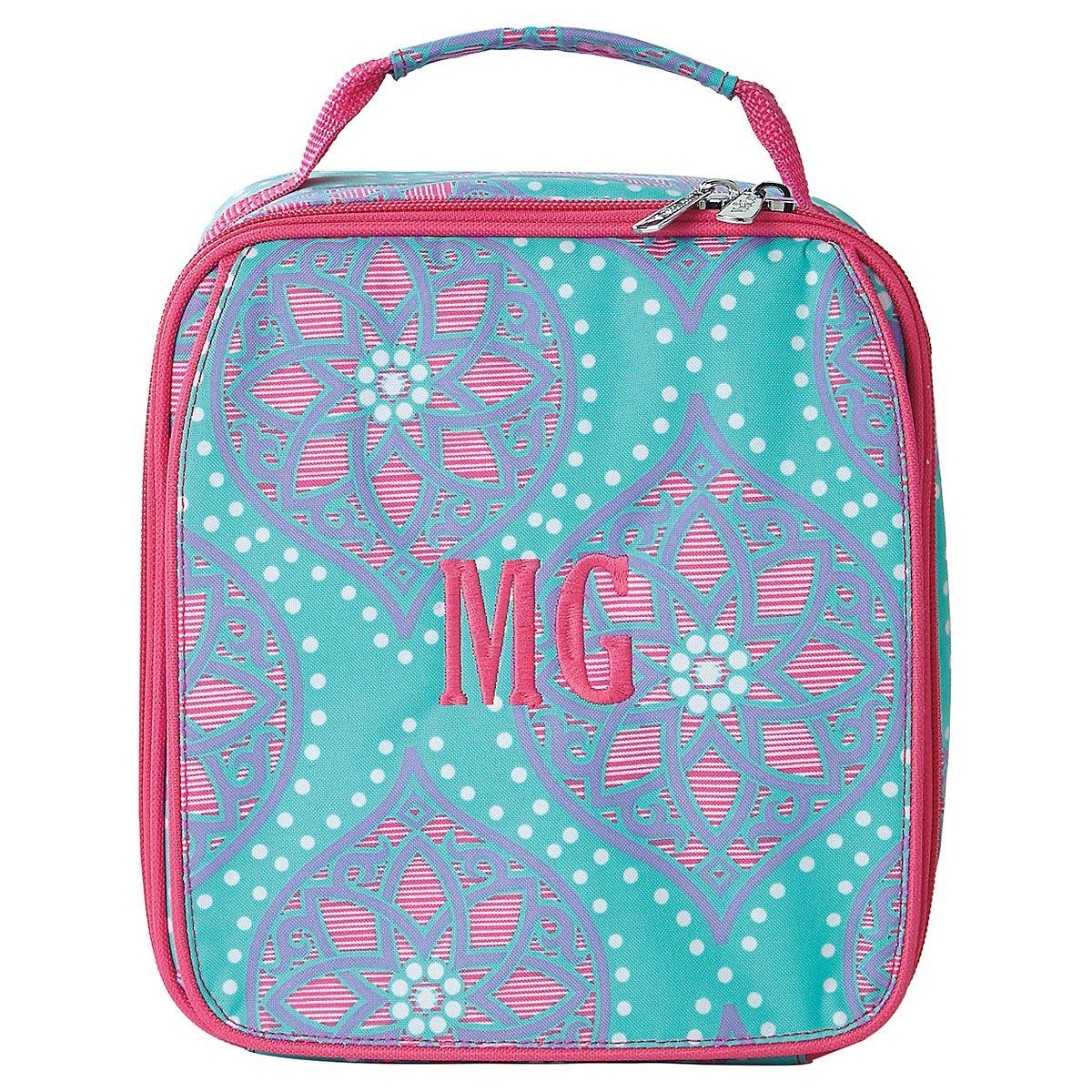 Marlee Lunch Bag - Monogram