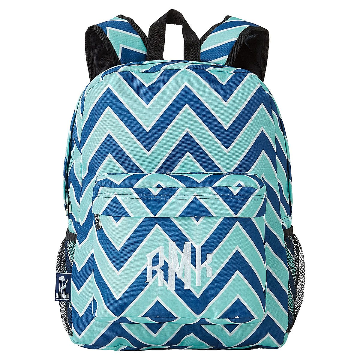 Chevron Personalized Seabreeze Backpack