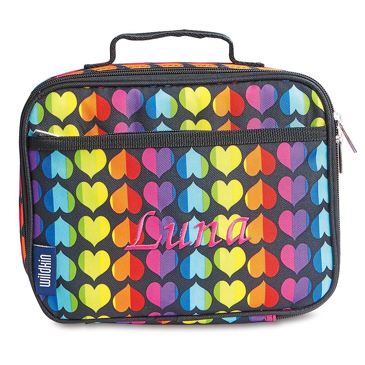 Rainbow Heart Lunch Bag