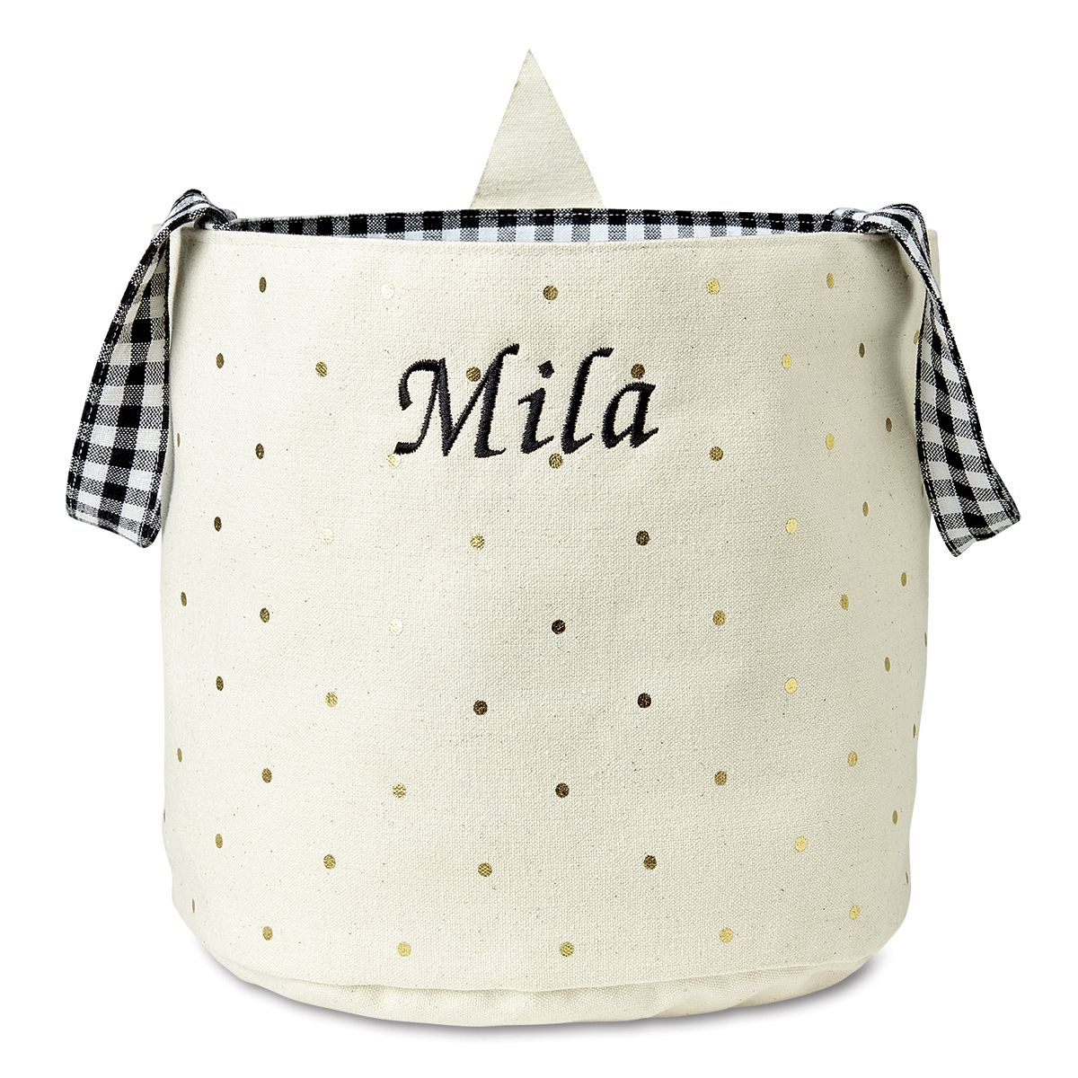 Hat Personalized Halloween Treat Bag