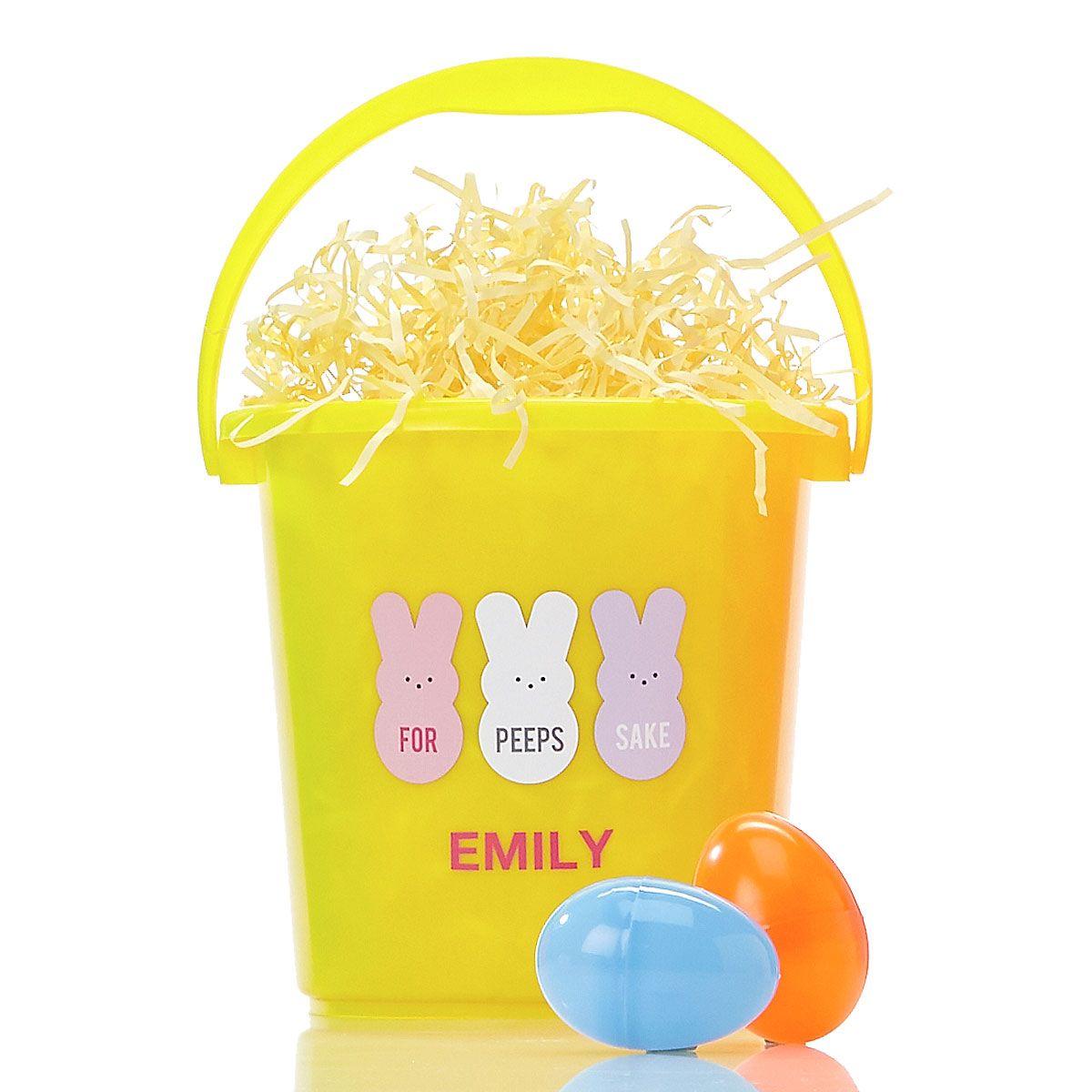 Easter Bucket - Yellow - 816607E