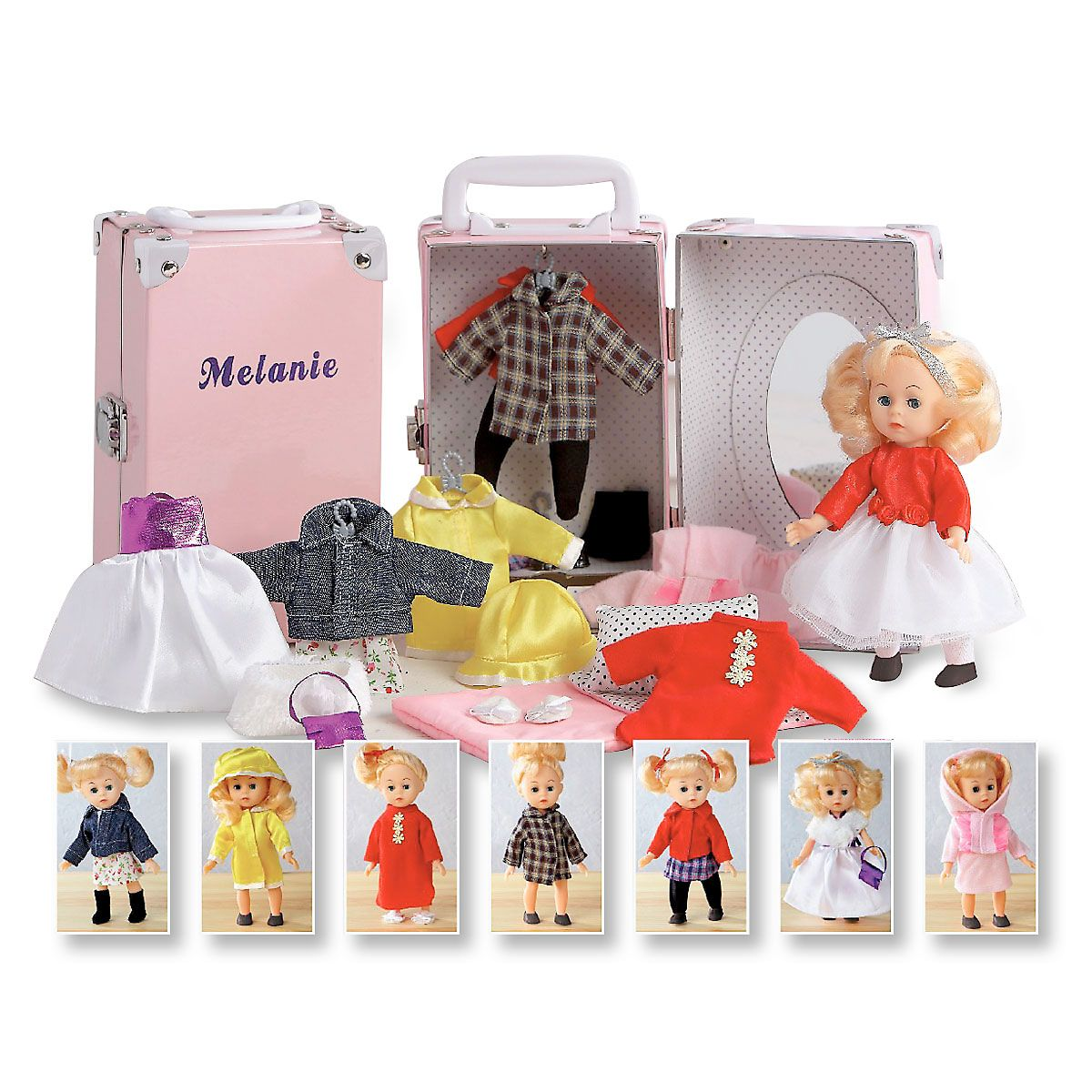 Doll in Pink Trunk