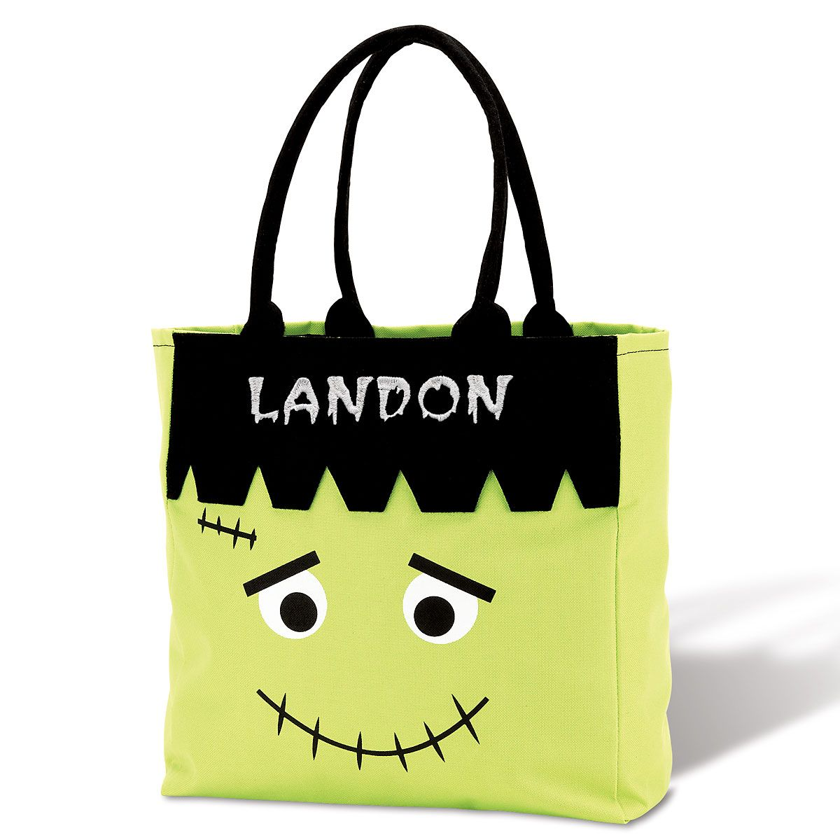 Frank Personalized Halloween Character Tote