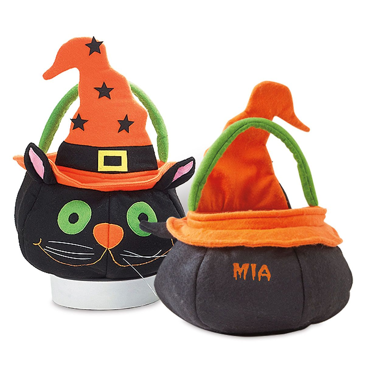 Cat Personalized Treat Bag Character