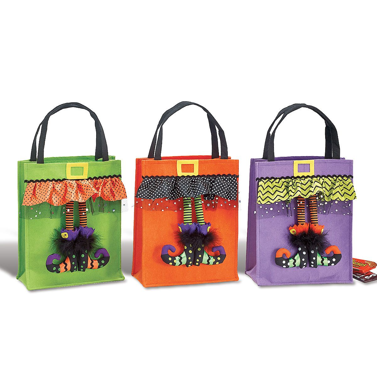 Personalized Halloween Witch feet Bag
