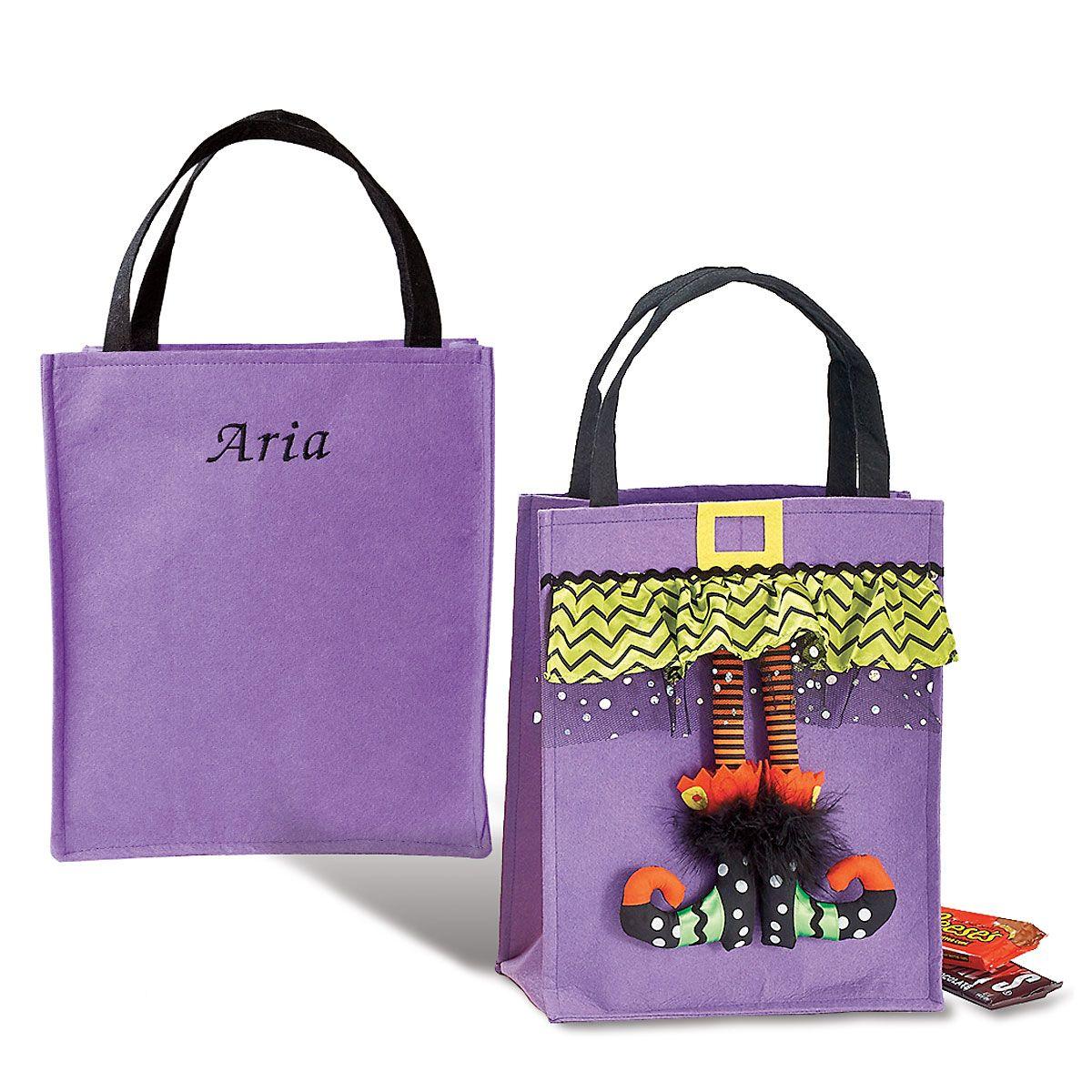 Witch Feet Bag - Purple