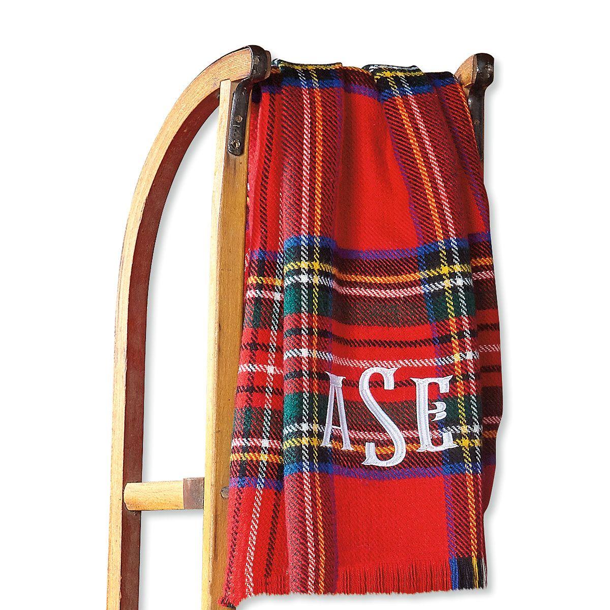 Tartan Personalized Blanket