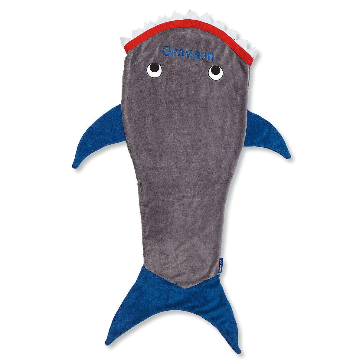 Shark Personalized Blankie Tail®