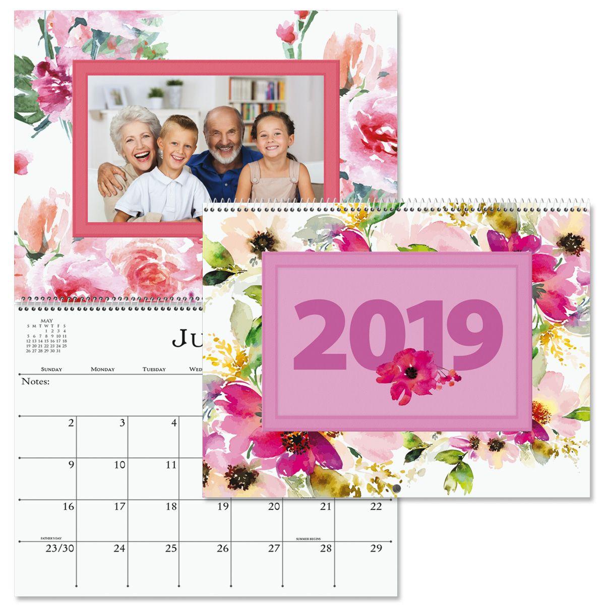 2019 Floral Photo Calendar
