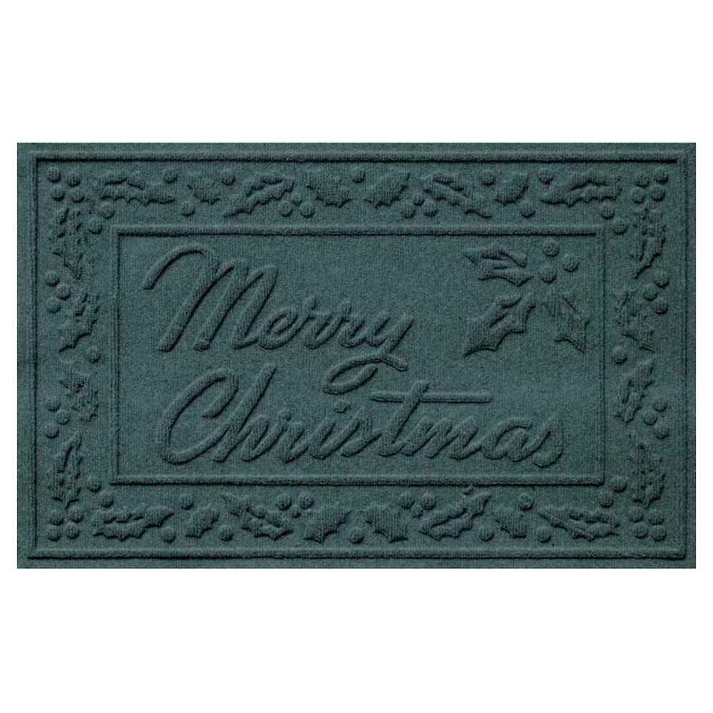 Merry Christmas Doormat - Evergreen - 816712B