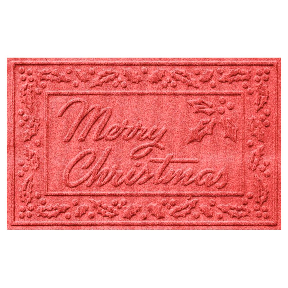 Merry Christmas Doormat - Red - 816712C