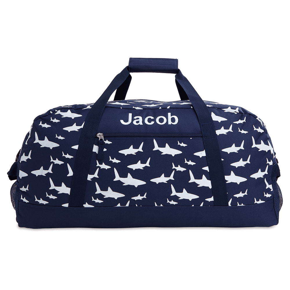 "Personalized Sharks 23"" Duffel Bag"
