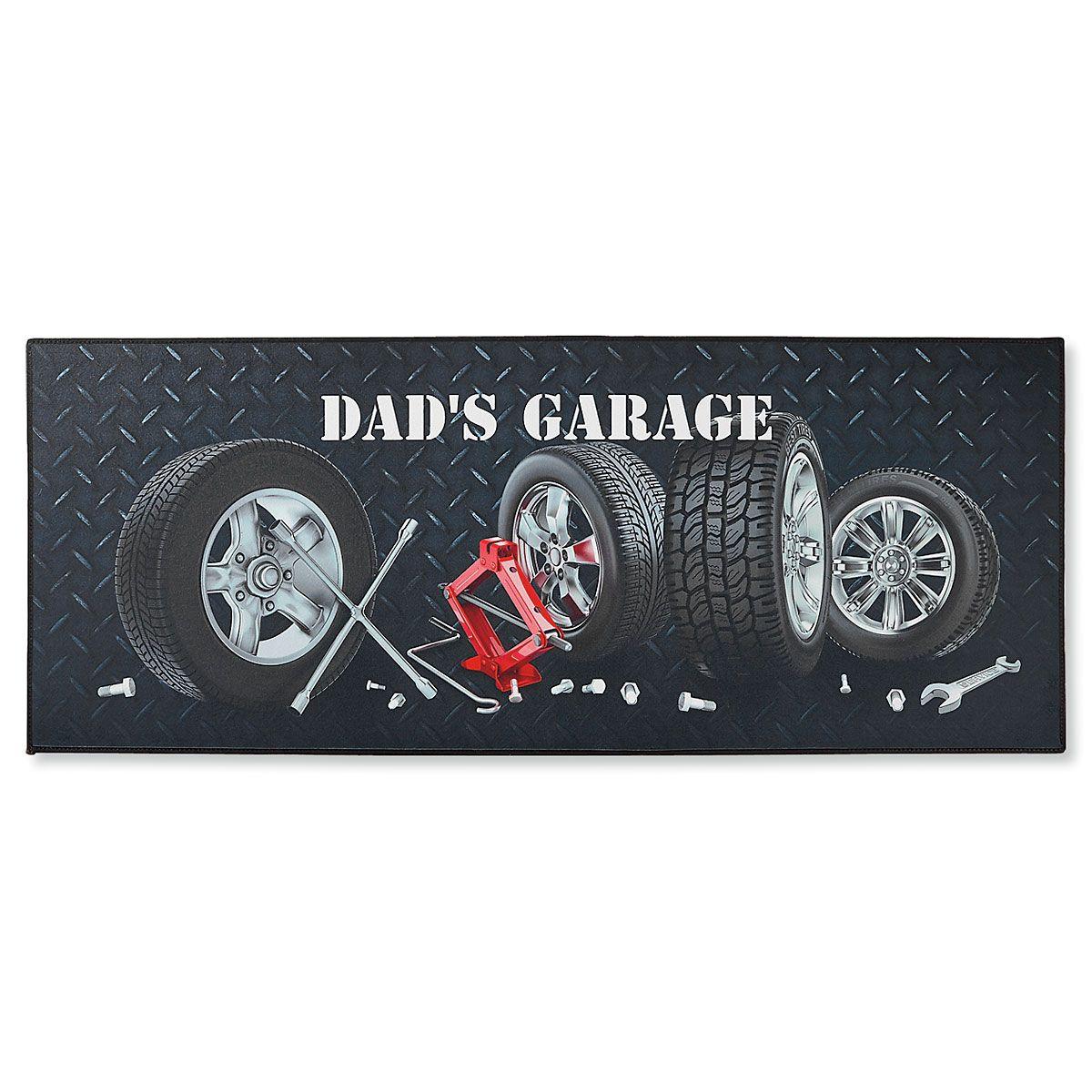 Garage Double-Width Personalized Doormat