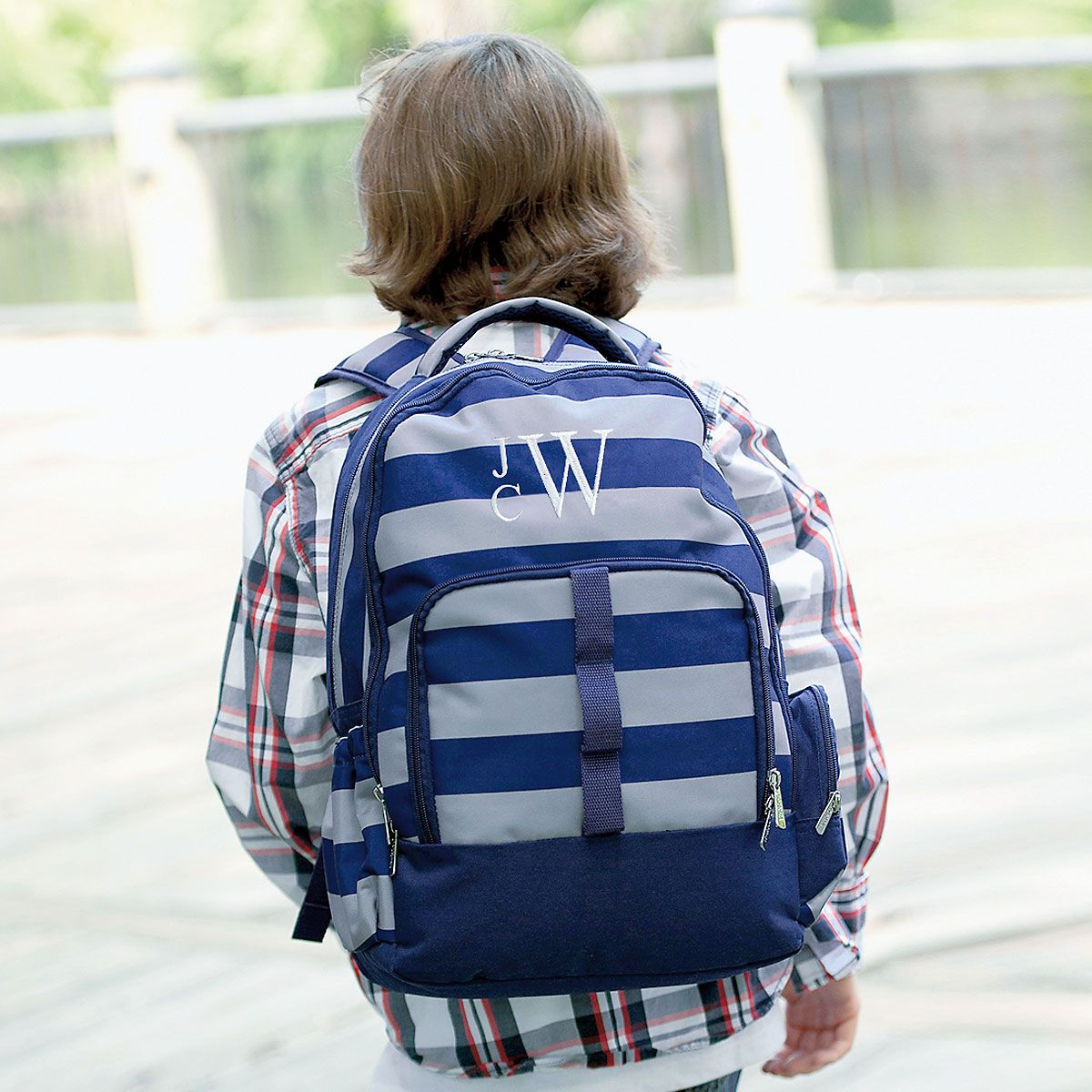 Personalized Greyson Backpack