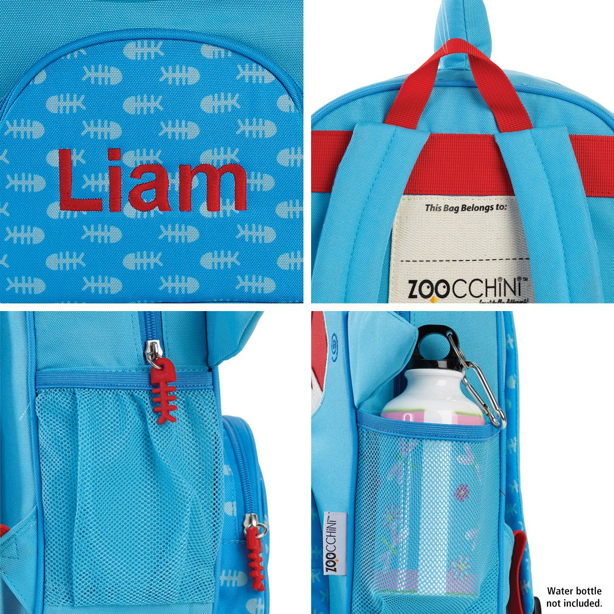 Personalized Sherman the Shark Backpack