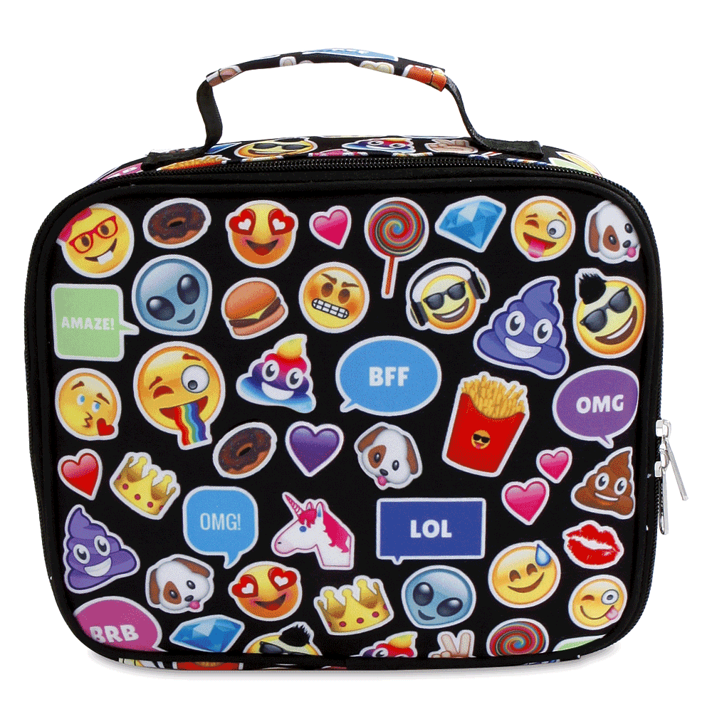 Personalized Emoji Funk Lunch Bag