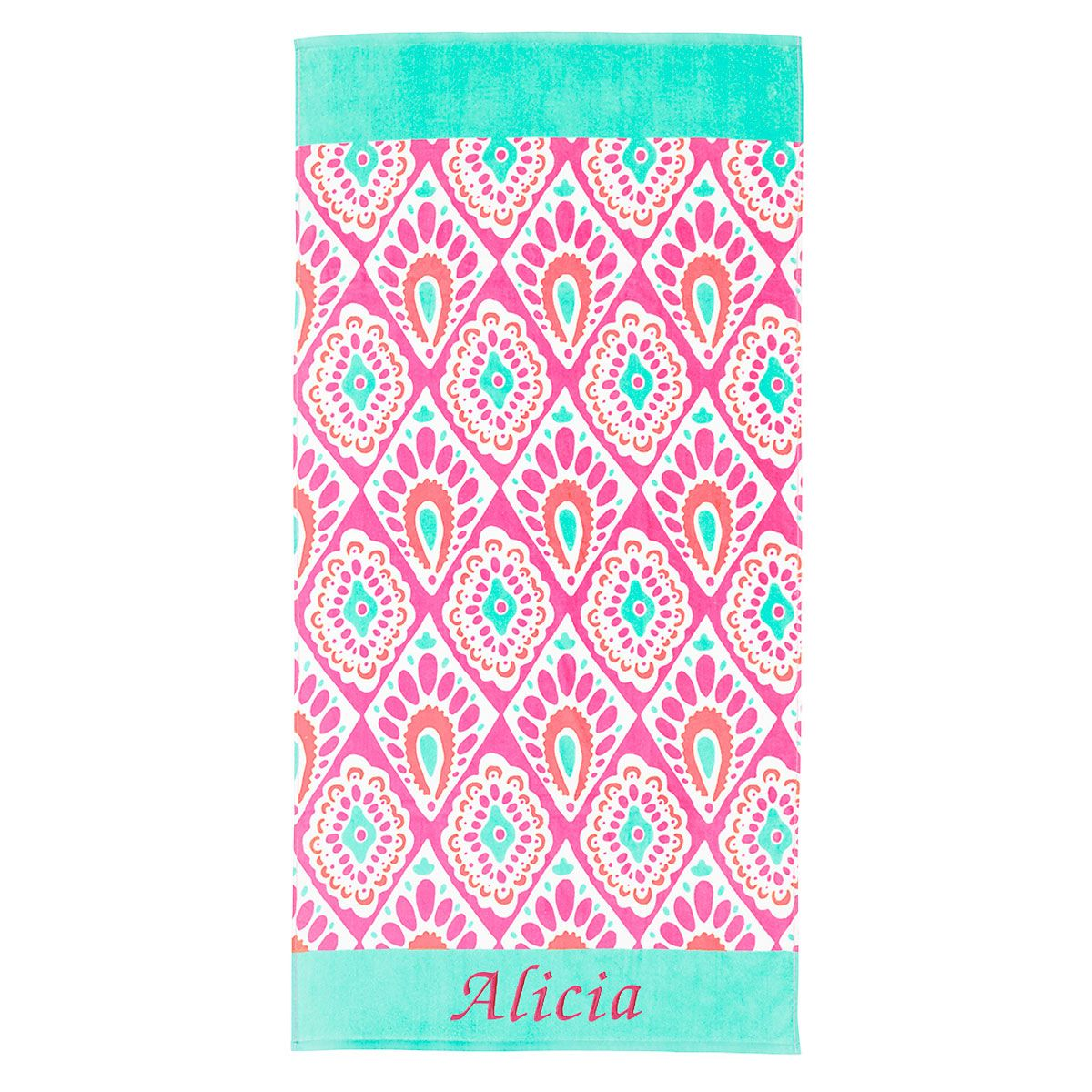Personalized Beachy Keen Beach Towel