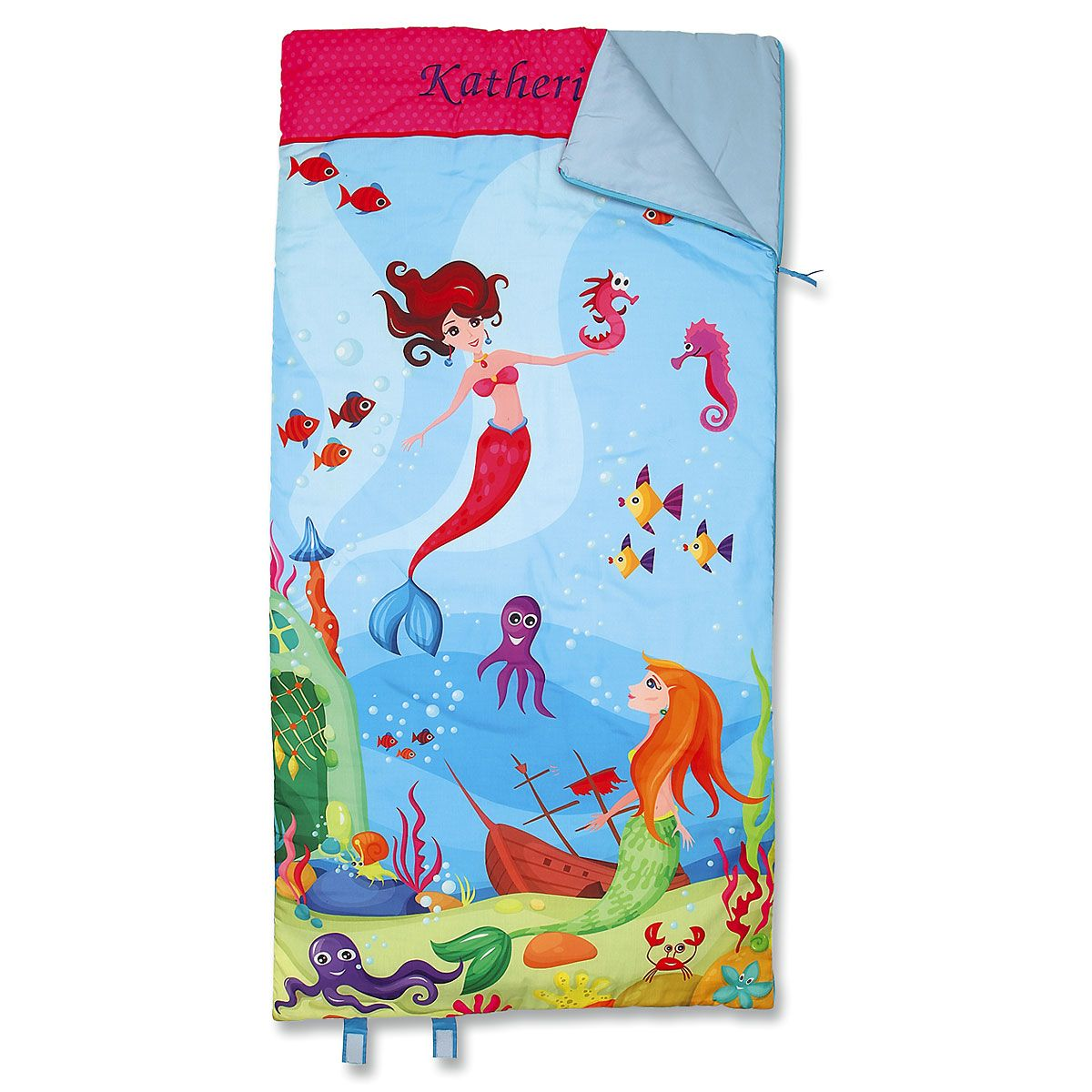 Personalized Mermaid Sleeping Bag