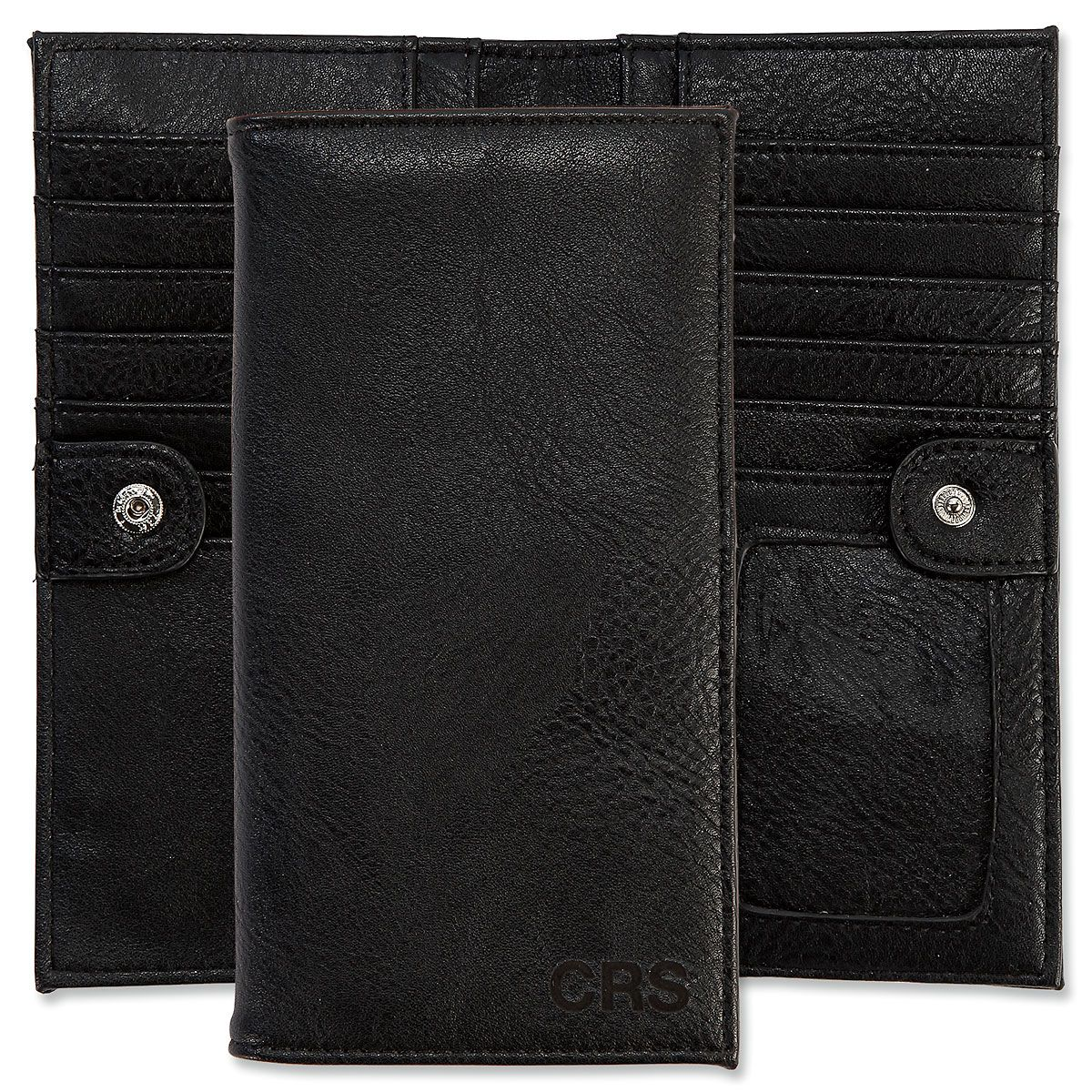 Personalized Black Wallet