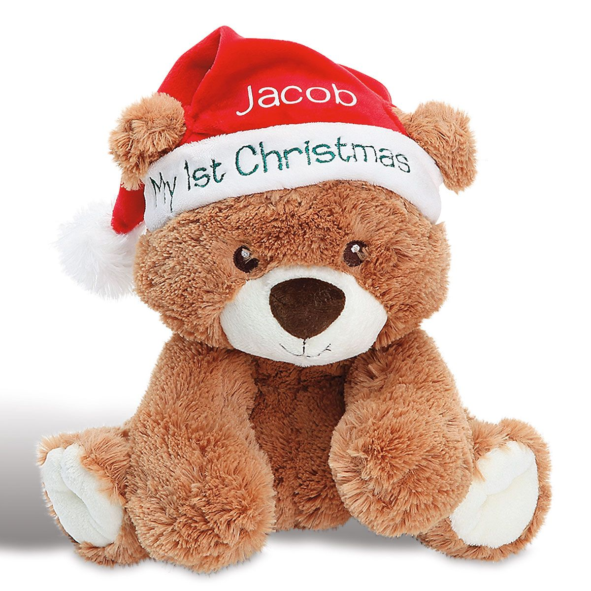 Personalized My First Christmas Bear