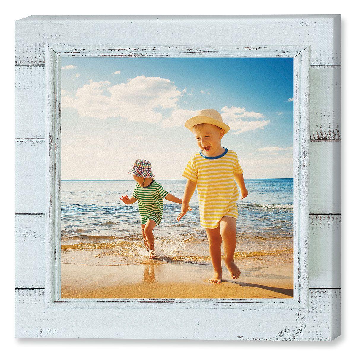 Shiplap Photo Canvas