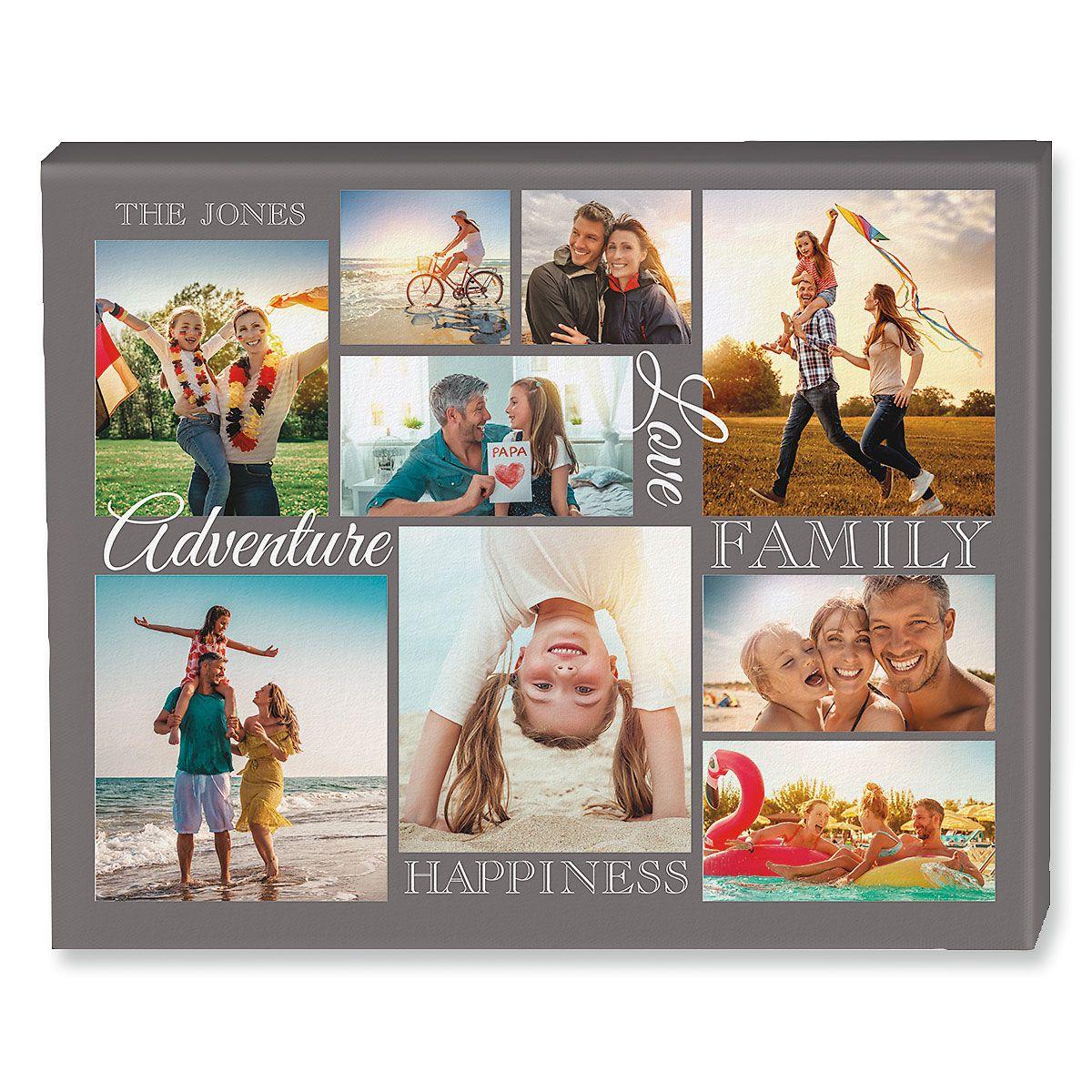 Adventure Collage Photo Canvas
