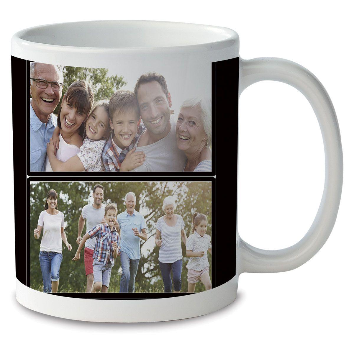 Family Name Ceramic Photo Mug