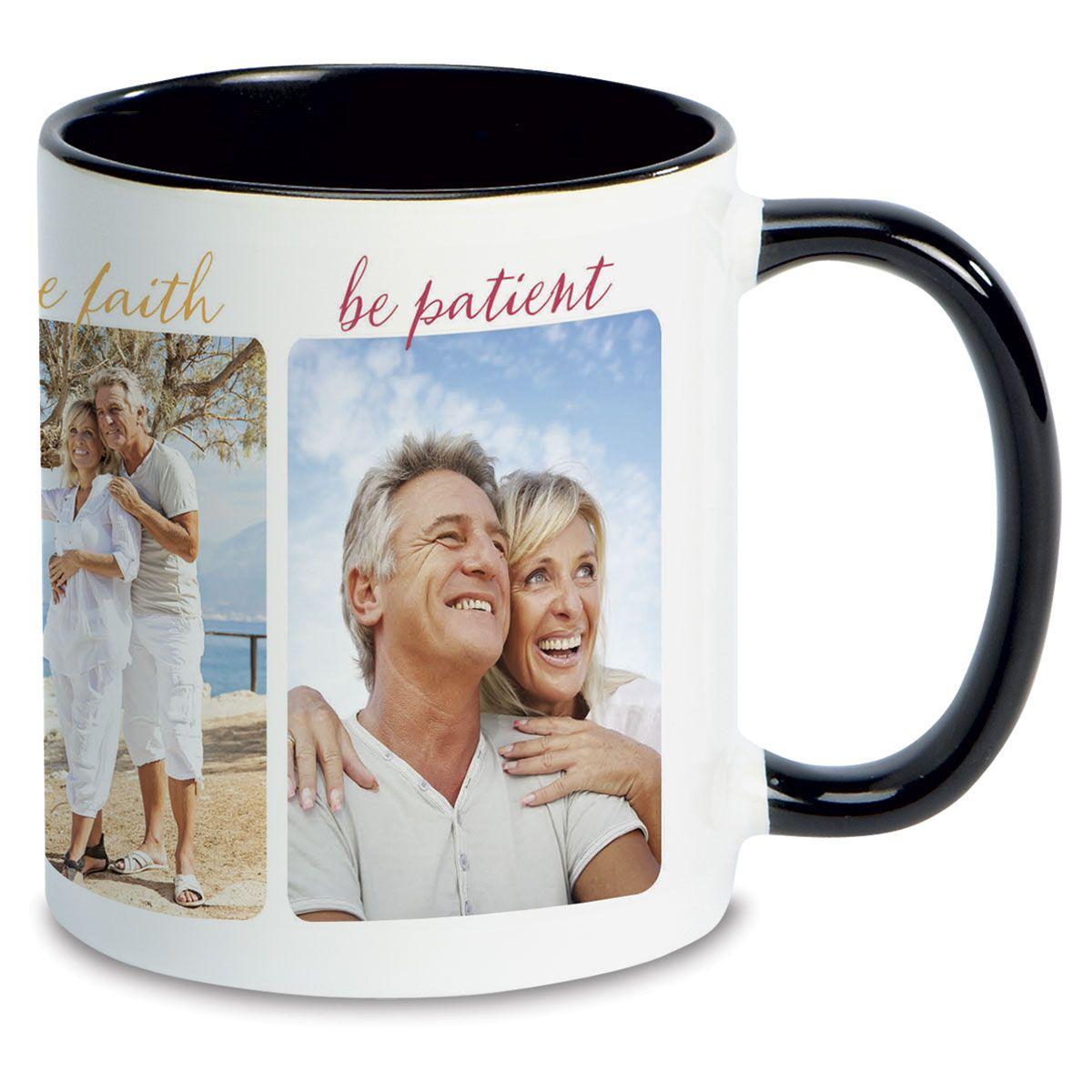 Be Brave Ceramic Photo Mug