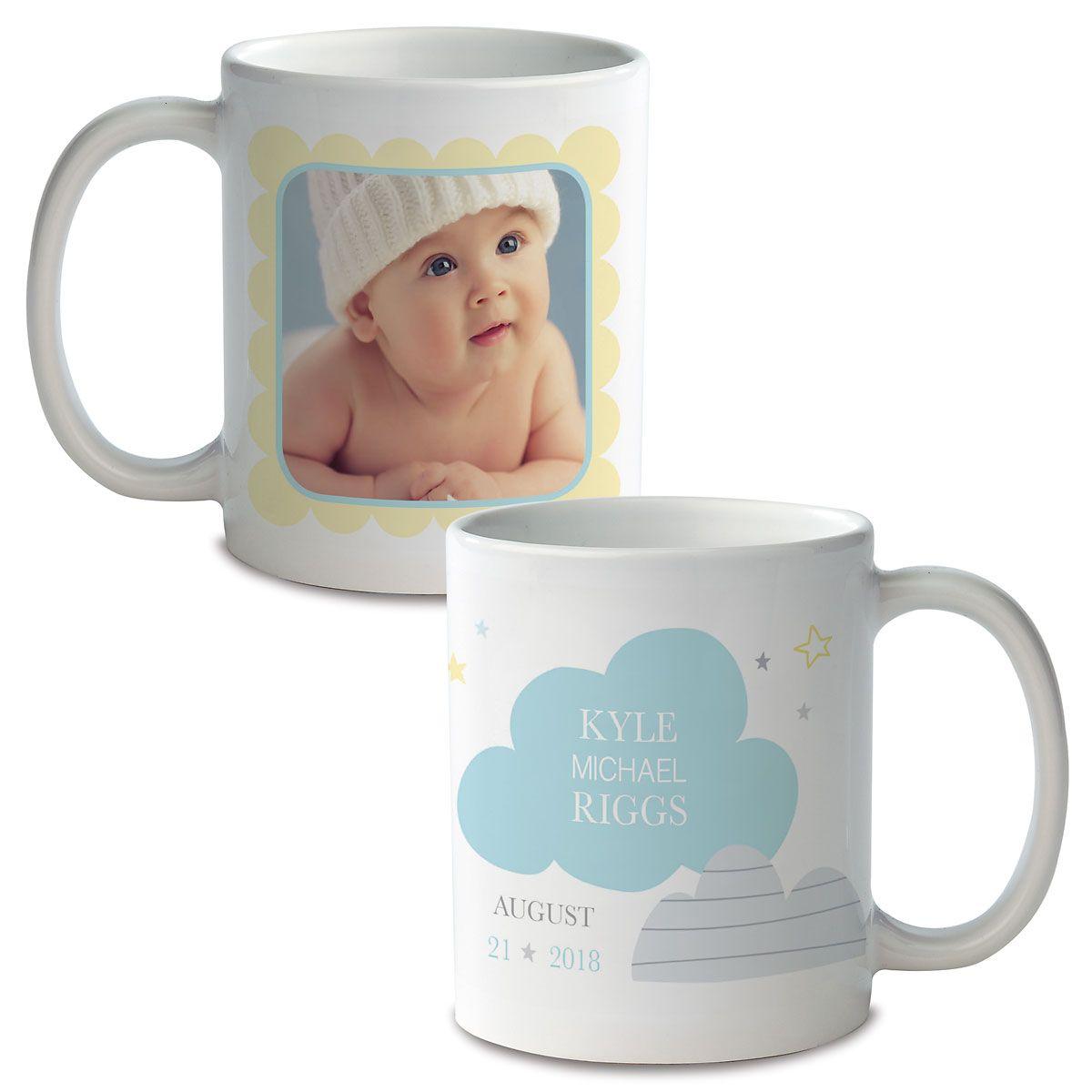 Baby Boy Ceramic Photo Mug