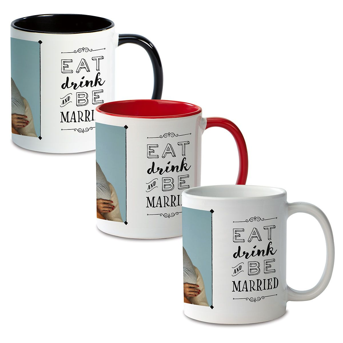 Be Married Ceramic Photo Mug