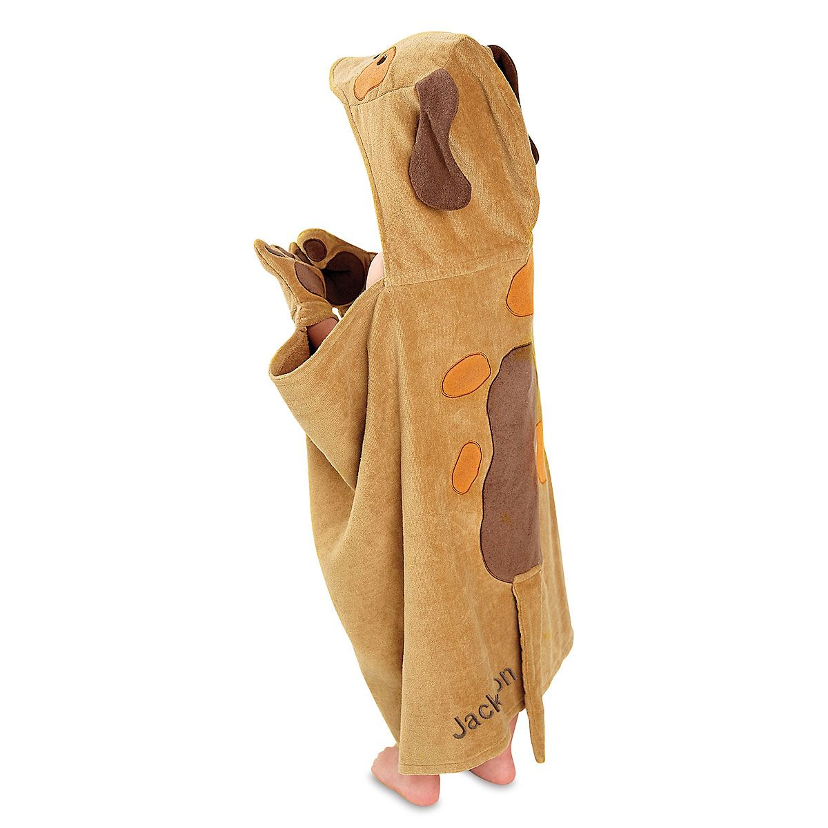 Personalized Hooded Puppy Towel by Mud Pie®