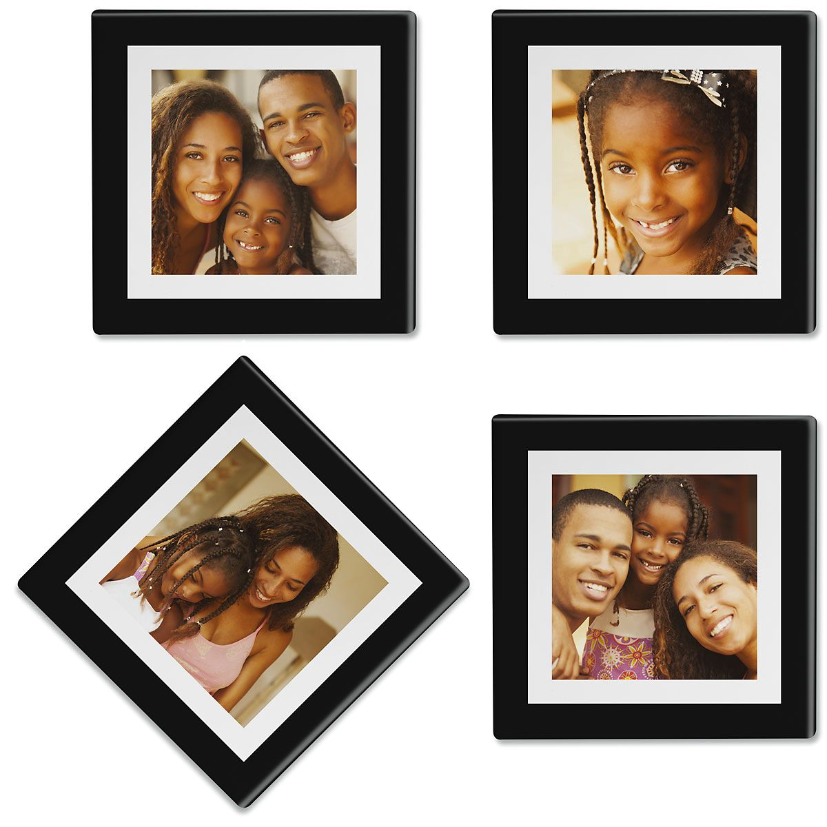 Duel Frame Photo Coasters