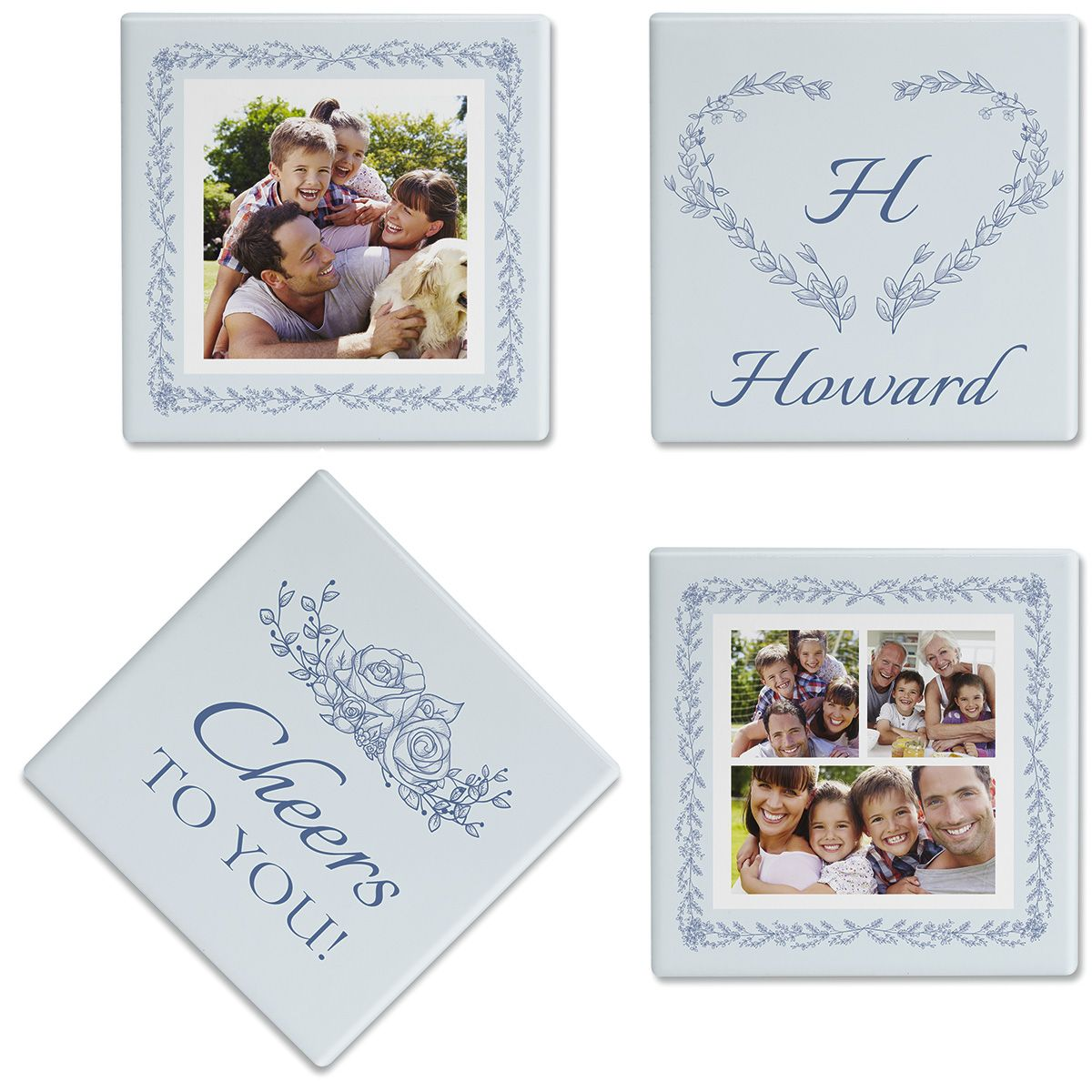 Laurel Cheers Photo Coasters