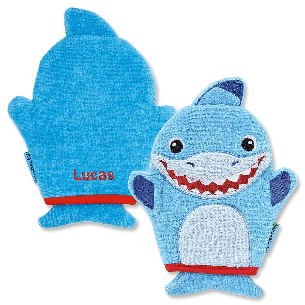 Personalized Shark Bath Mitt by Stephen Joseph®