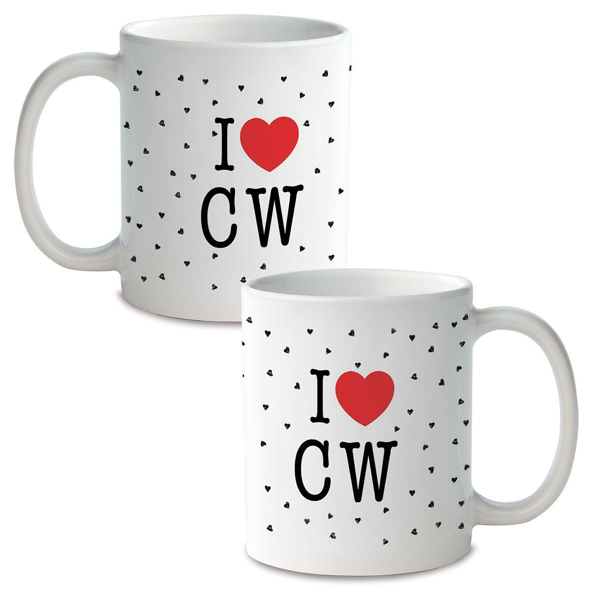 I Love Personalized Ceramic Mug