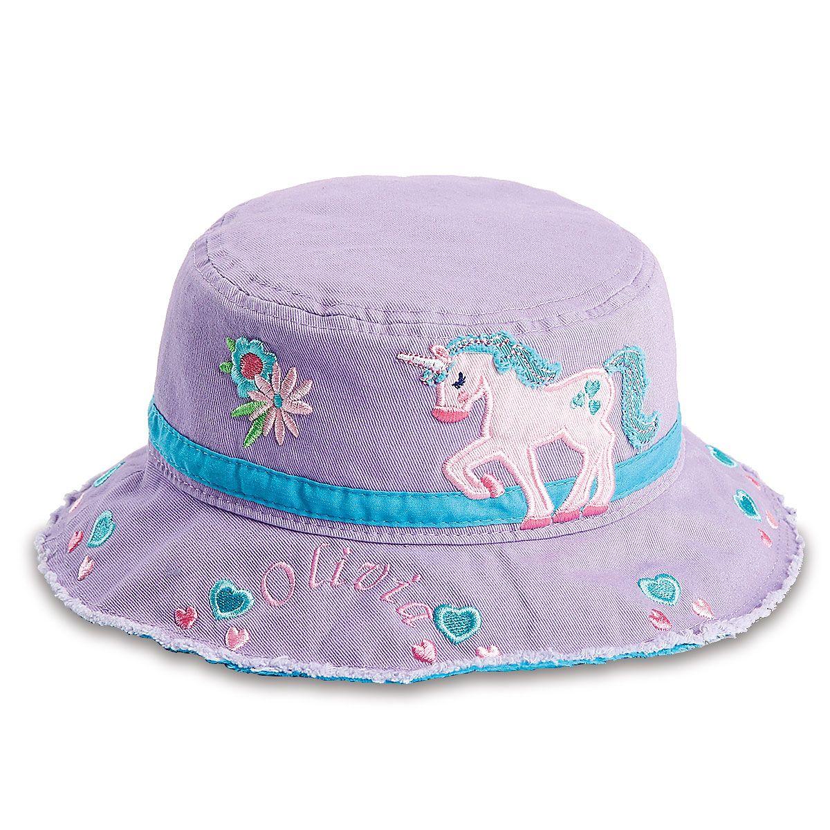 Personalized Unicorn Bucket Hat by Stephen Joseph®