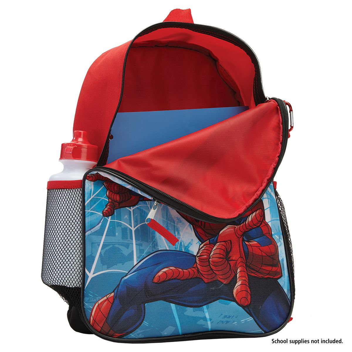 Personalized 5-in-1 Spiderman Backpack Set