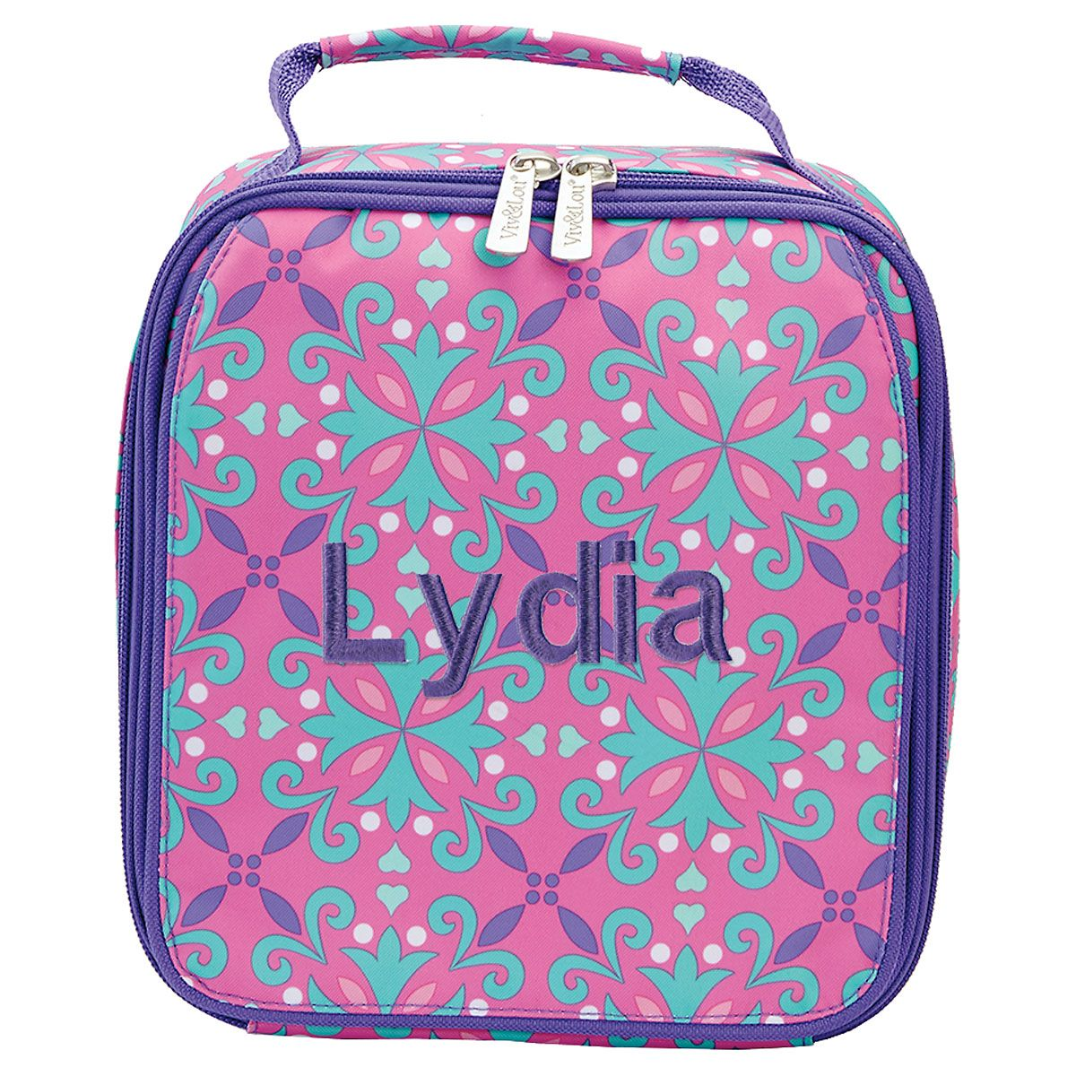 Personalized Lila Lunch Tote