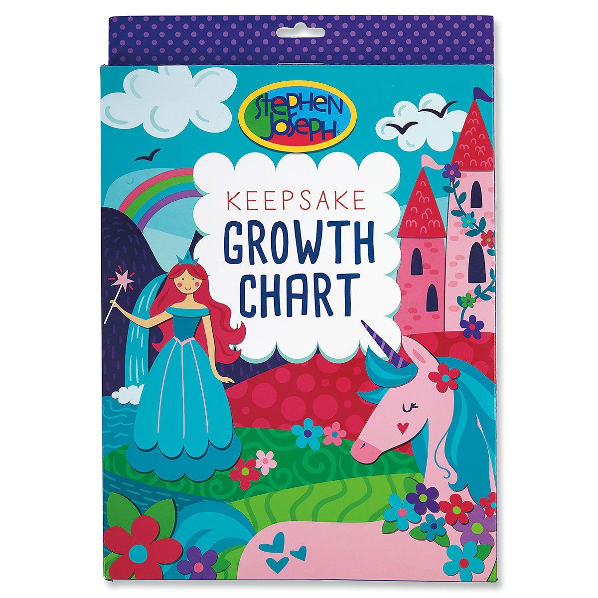 Personalized Unicorn Growth Chart by Stephen Joseph®