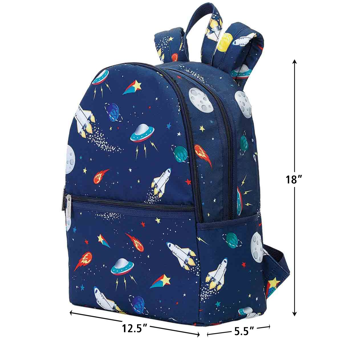 Personalized Space Backpack