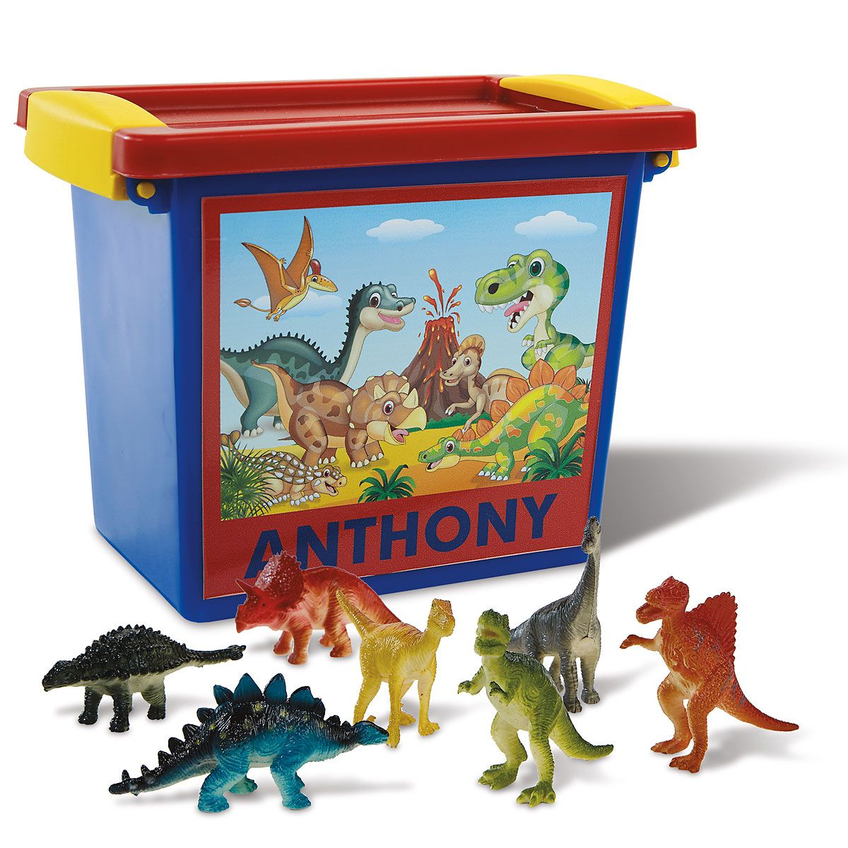 Personalized Dinosaurs-in-a-Case