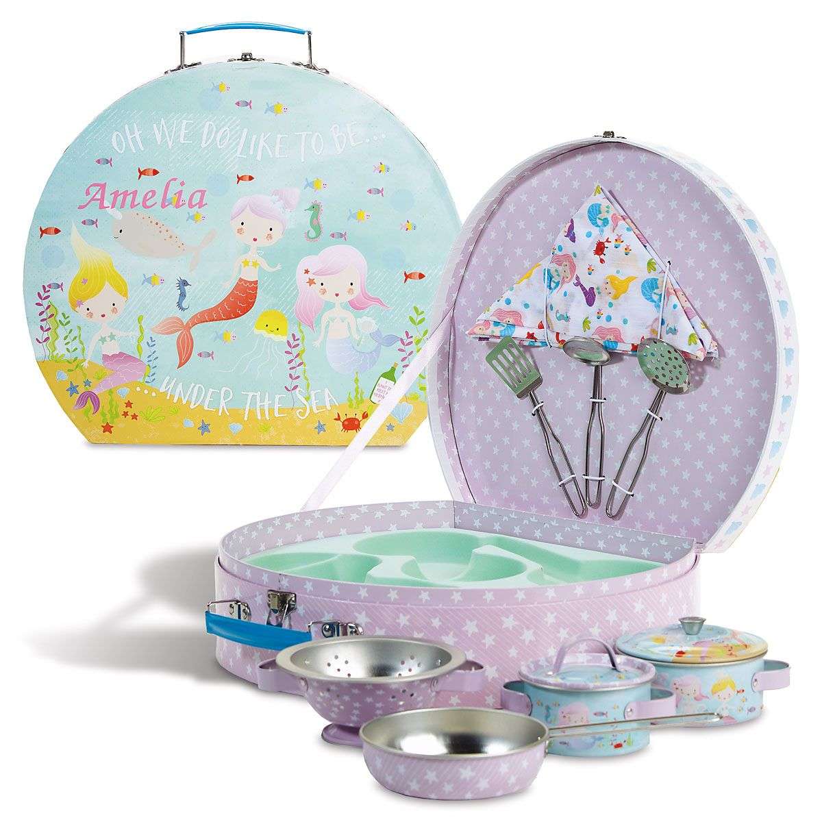Personalized Mermaid Cooking Set