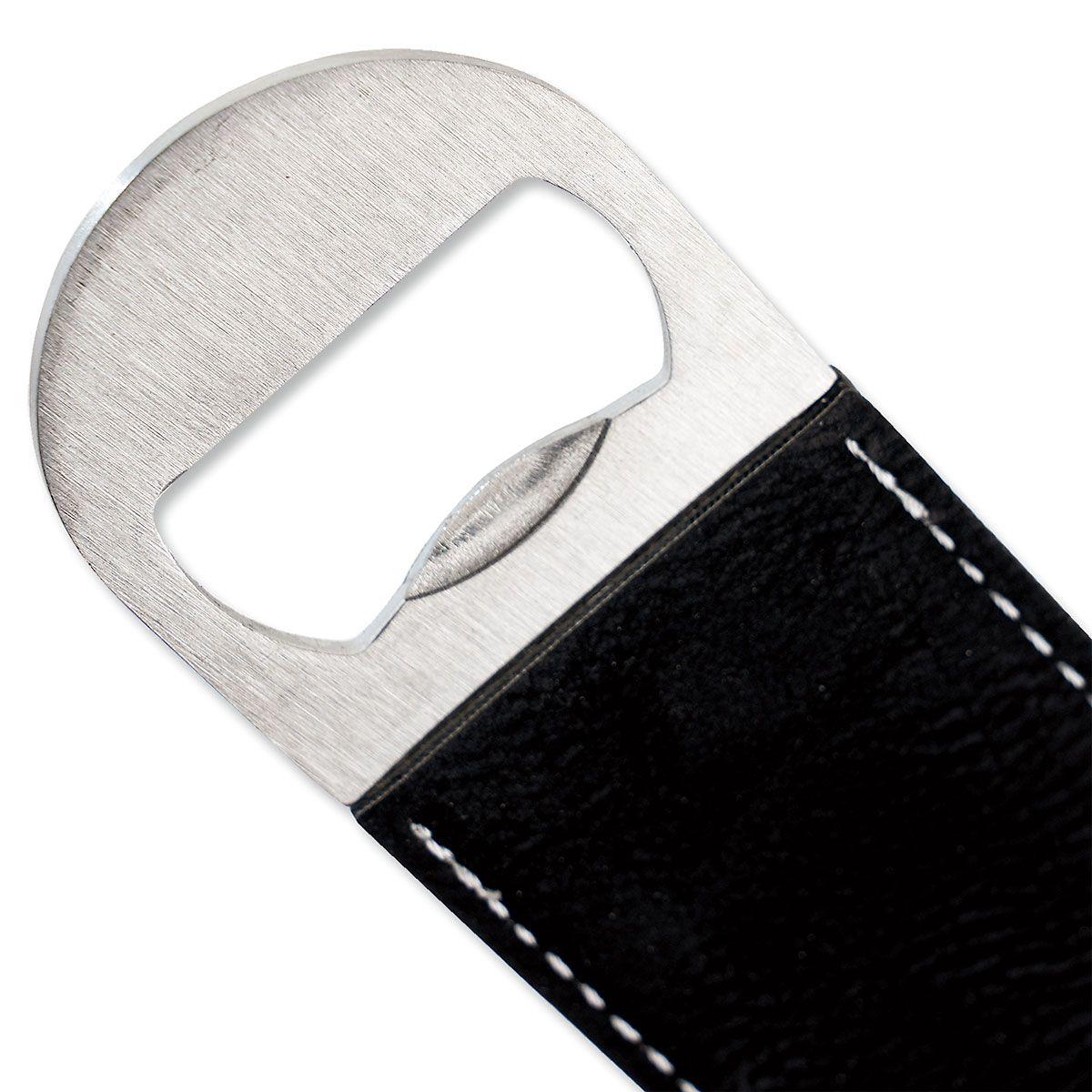 Initialed Stripe Bottle Opener