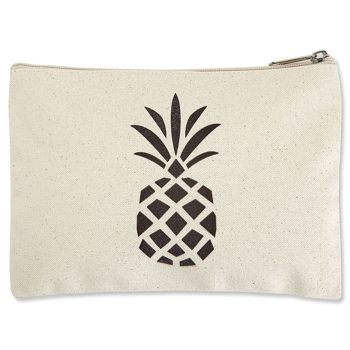 Pineapple Zippered Pouches