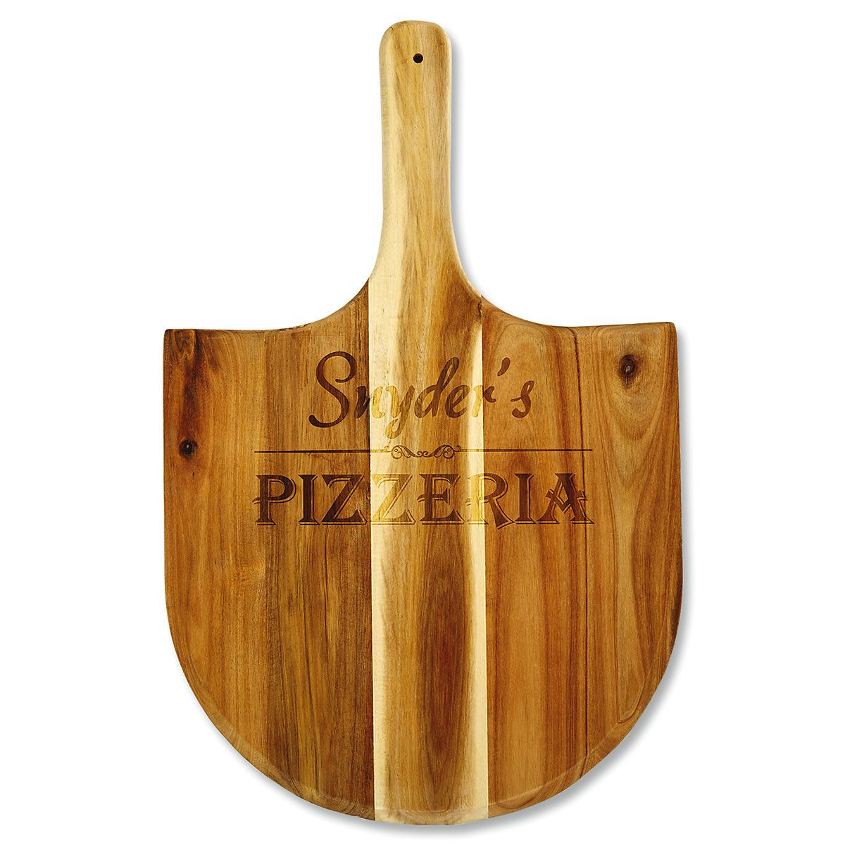 Personalized Acacia Pizza Peel