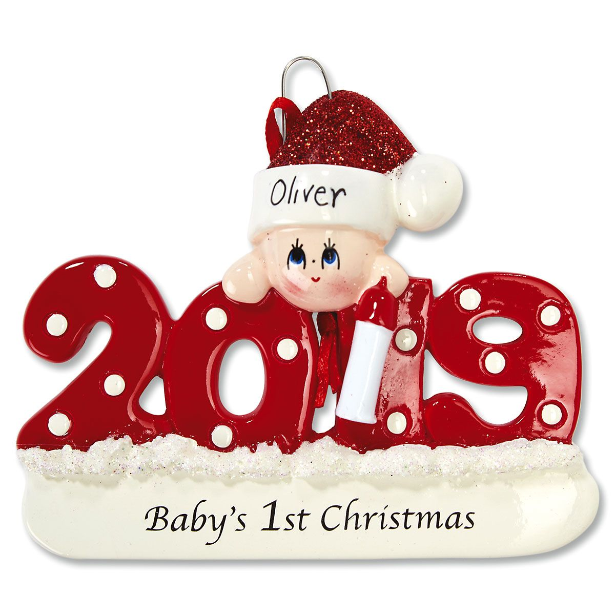 2019 Baby's First Christmas