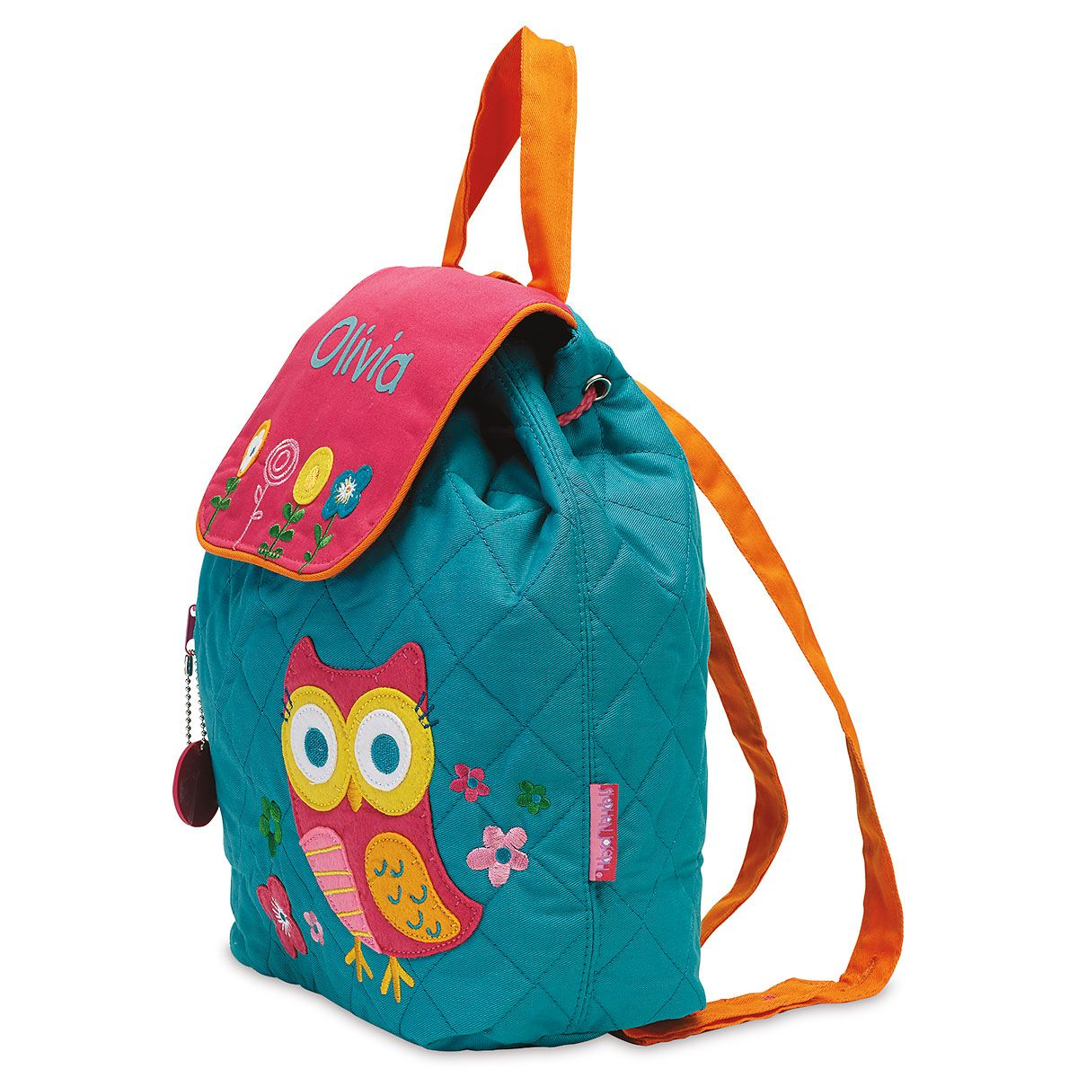 Personalized Owl Quilted Backpack
