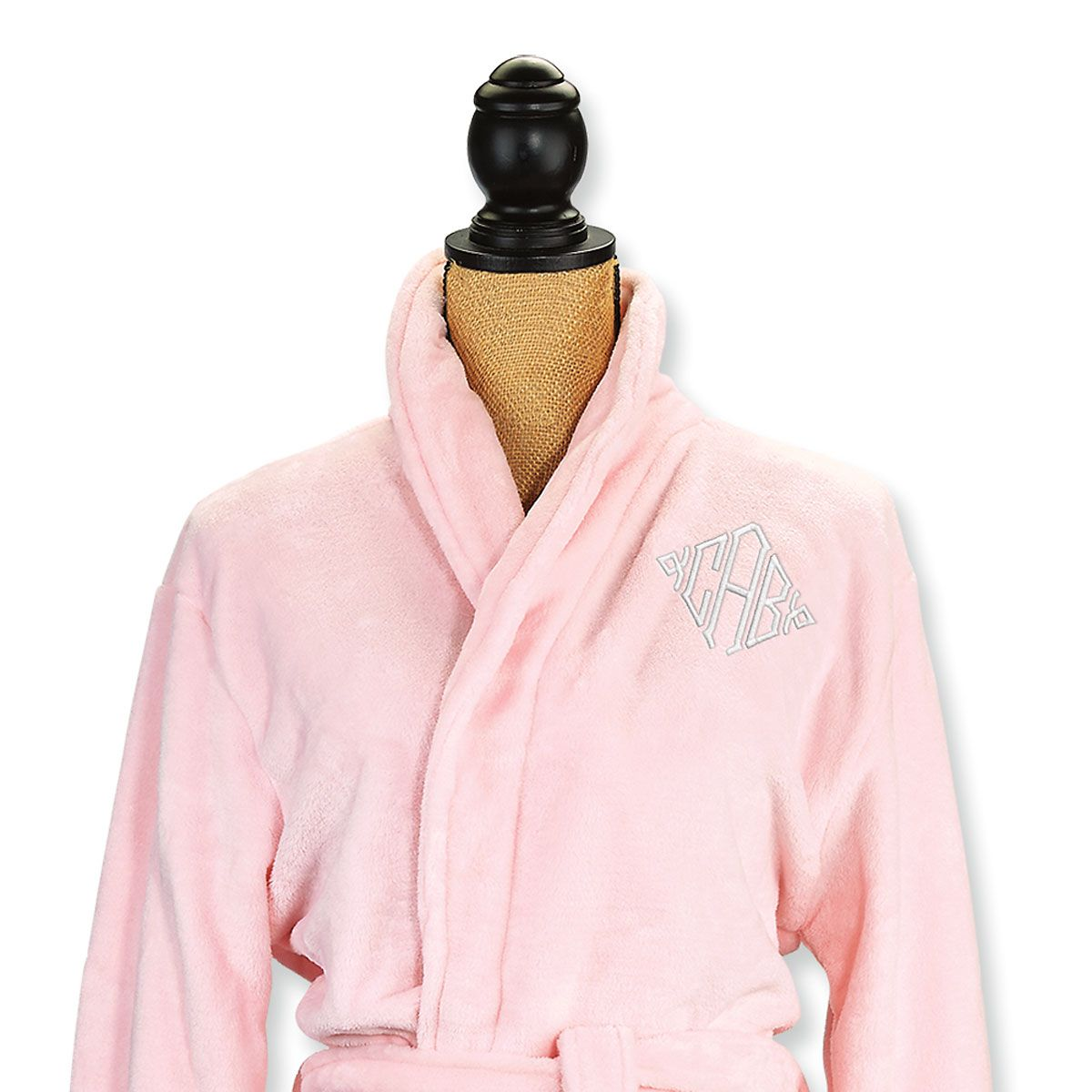 Small/Medium Pink Spa Robe - Diamond Monogram