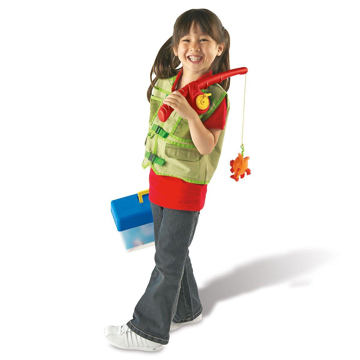Personalized Pretend & Play Fishing Set