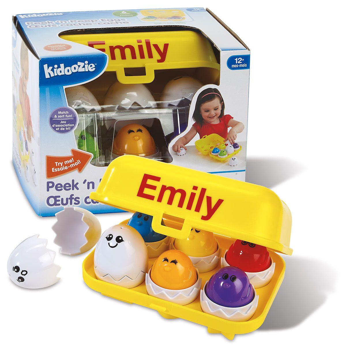 Personalized  Peek'n Peep Eggs